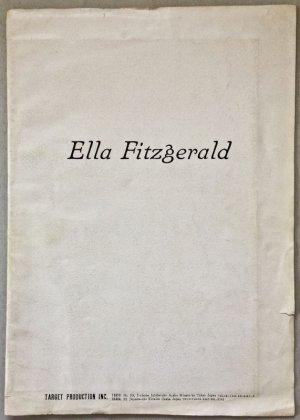 画像1: エラ・フィッツジェラルド 昭和39年来日公演パンフレット エラ・イン・ジャパン