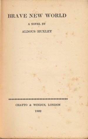 画像1: ALDOUS HUXLEY Brave New World